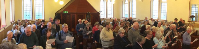 A Full Church for Bethels Cradle to Cross