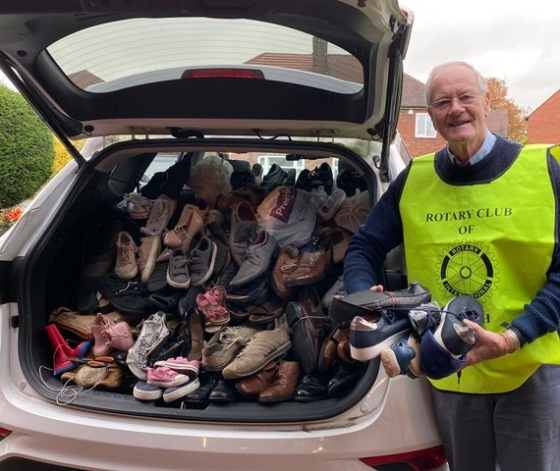 Shoes for Shoe Aid UK